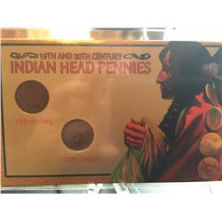 19th & 20th Cent. Indian Head cents