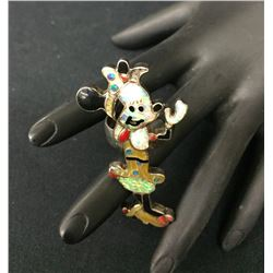 Mini Mouse Inlay Ring