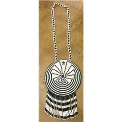 Large Man-in-the-Maze Beaded Necklace