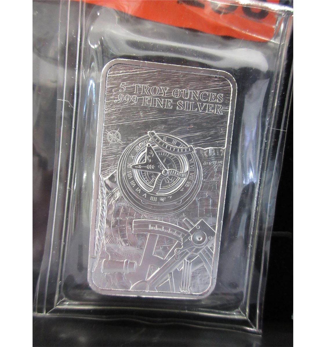 5 Troy Ounce 999 Silver Investors Bar