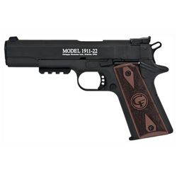 "Chiappa 1911-22 Target, .22LR, 5""BRL, Adjustable Sights, 10 shot, NEW IN BOX, w/ Rail, #G191122T, Z"