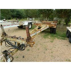 Pole Trailer, Four New Tires! GVWR 24000, Air Brakes, 02/17/88, 40'?