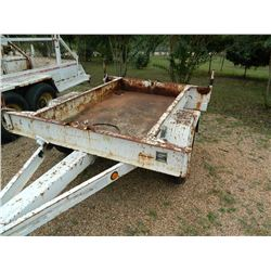 Butler Pole Trailer, 8,000 pound, 11/15/96, Air Brakes, Single Axle, 19'