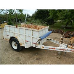 Butler Spool Trailer, Single Axle, With Bar