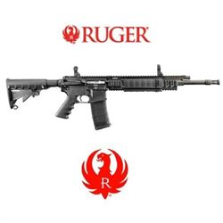 "Ruger SR-556FB semi-auto rifle, AR-15, #5902, NEW IN BOX, 30 Shot, 7.92 pounds, 32.75""-36"" Length"