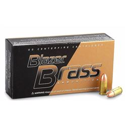 2 Boxes of Federal Blazer Brass 9mm.