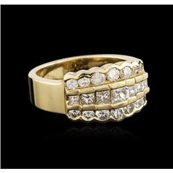 14KT Yellow Gold 1.50ctw Diamond Ring