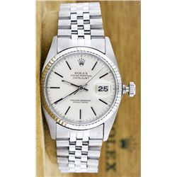 Rolex Stainless Steel DateJust Men's Watch