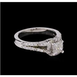 1.23ct Diamond Ring - 14KT White Gold