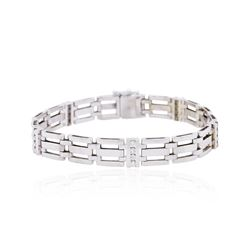 14KT White Gold 0.58ctw Diamond Bracelet