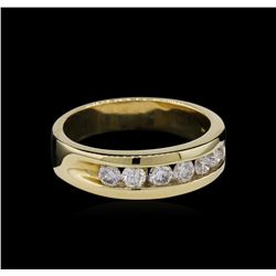1.00ctw Diamond Ring - 14KT Yellow Gold
