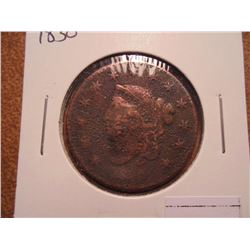 1830 US LARGE CENT