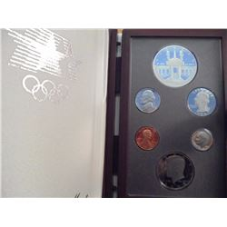 1984 US PRESTIGE PROOF SET OLYMPICS ORIGINAL US MINT PACKAGING