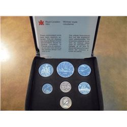 1980 CANADA DOUBLE CENT SET ORIGINAL ROYAL CANADIAN MINT PACKAGING