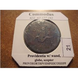 177-192 A.D. COMMODUS ANCIENT COIN (FINE)