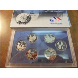 2009 DISTRICT OF COLUMBIA & US TERRITORIES 1/4'S PROOF SET WITH BOX