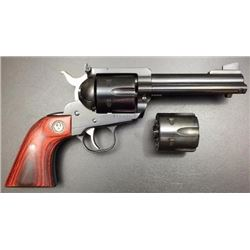 "*NEW* RUGER BLACKHAWK FLATTOP 357 MAGNUM / 9MM 4.63"" 6RD WOOD STEEL FRAME 736676052448"