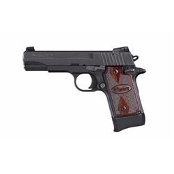 "*NEW* SIG SAUER P938 TARGET SAO 22LR 4.1"" 10+1 AS Rosewood Grip Blk 798681480296"