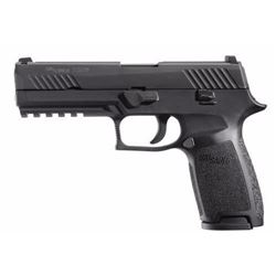 "*NEW* SIG SAUER P320 FULL DAO Striker 9mm 4.7"" 17+1 NS Poly Grip/Frm Blk 798681474295"