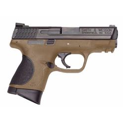 "*NEW* SMITH AND WESSON M&P40C Double 40 S&W 3.5"" 10+1 Black Poly Grips FDE 022188866667"