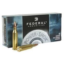 *AMMO* Federal 243B Power-Shok 243 Winchester Soft Point 100 GR (200 ROUNDS) 029465084288
