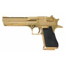*NEW* MAGNUM RESEARCH DESERT EAGLE 50 AE 24K GOLD 761226022954