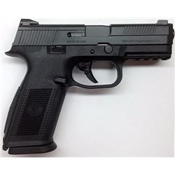 """*NEW* FNH USA FNS9 No Manual Safety Fxd 3 Dot 9mm 4"""" 10+1 3 Mags Blk Poly/Blk 845737003623"""