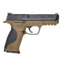 "*NEW* SMITH AND WESSON M&P40 40SW 4.3"" 15+1 Black Polymer Grips Flat Dark Earth 022188866728"