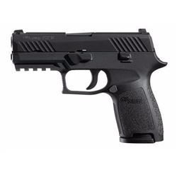 "*NEW* SIG SAUER P320 COMPACT DAO Striker 40S&W 3.9"" 13+1 NS Poly Grip/Frm Blk 798681474271"