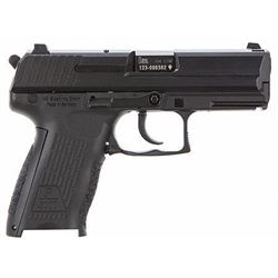 "(WC) HK M704203A5 P2000 V3 DA/SA 40S&W 3.66"" 12+1 Decocker NMS Blk Poly Grip Blued 642230244801"