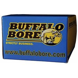 (WC) Buffalo Bore Ammunition 45-185/20 45 ACP +P JHP 185GR 20Box/12Case (200 RONDS) 651815451862