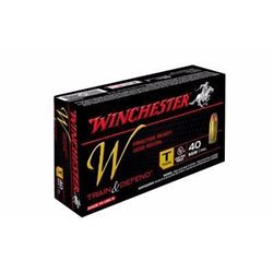 (WC) WIN W TRAIN 40SW 180GR FMJ (500 ROUNDS) 020892220553
