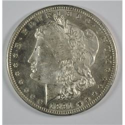 1891-CC MORGAN DOLLAR GEM BU NICE!