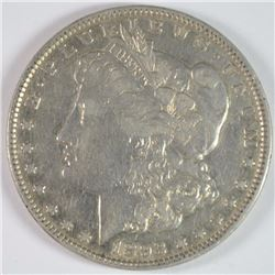 1893 MORGAN DOLLAR XF-AU KEY COIN