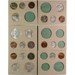 1955 U.S. MINT DOUBLE MINT SET, 2 OF EVERY COIN MINTED, GEM BU ORIGINAL!