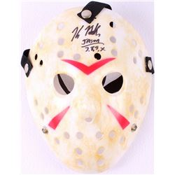 "Kane Hodder Signed Jason ""Friday the 13th"" Hockey Mask Inscribed ""Jason 7, 8, 9, X"" (PA COA)"