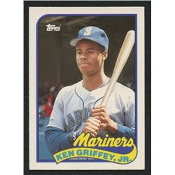 Ken Griffey Jr. 1989 Topps Traded #41T RC