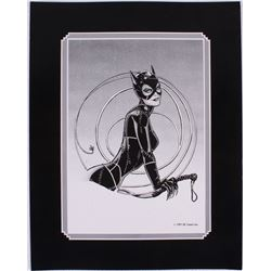 "Batman Returns ""Catwoman"" Surrounded by Whip Limited Edition 11x14 Zanart Lithograph"