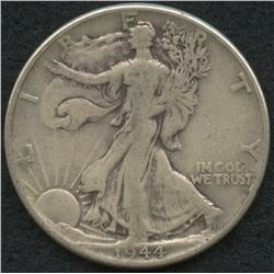 1944 Walking Liberty Silver Half Dollar