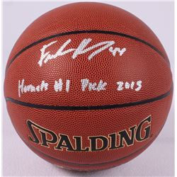 "Frank Kaminsky Signed Basketball Inscribed ""Hornets #1 Pick 2015"" (Schwartz COA)"