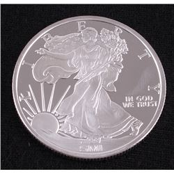 Walking Liberty 1 Troy Oz. Fine Silver Round from Sunshine Mint