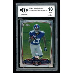 Odell Beckham Jr. 2014 Topps Chrome #117A RC (BCCG 10)