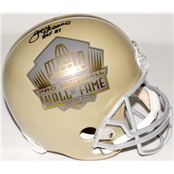 "Joe Greene Signed ""Hall of Fame"" Full-Size Helmet Inscribed ""HOF 87"" (TSE COA)"