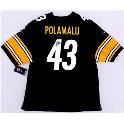 Troy Polamalu Signed Steelers Nike Jersey (JSA Hologram)