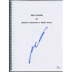 "John Travolta Signed ""Pulp Fiction"" Full Script (JSA COA)"