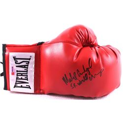 "Michael Carbajal Signed Everlast Boxing Glove Inscribed ""5x World Champ"" (PA COA)"