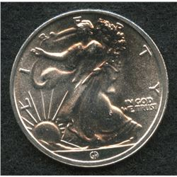 Walking Liberty 1/10 Troy Oz. Fine Silver Replica Round from Great American Mint
