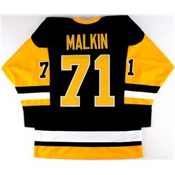 Evgeni Malkin Penguins On-Ice Style Custom Stitched Jersey (Size XL)