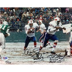 OJ Simpson Signed Bills Limited Edition 8x10 Photo from Infamous Vegas Robbery with Case Evidence Ce