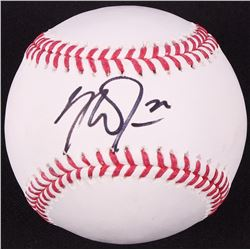 Mike Trout Signed OML Baseball (JSA Hologram)